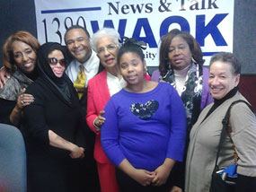 Christy and the WAOK Team  » Click to zoom ->
