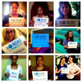 #NoMore Domestic Violence Campaign (March 2014)  » Click to zoom ->